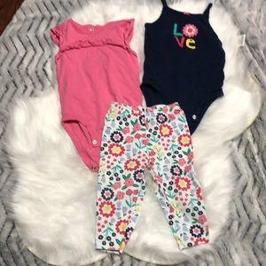 Super Cute!! 3 piece outfit by Carter's